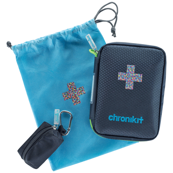 chronikit Asthmatasche mit Notfallplan